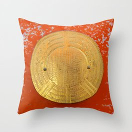 Land of the rising sun Throw Pillow