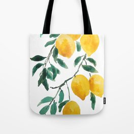 yellow lemon 2018 Tote Bag