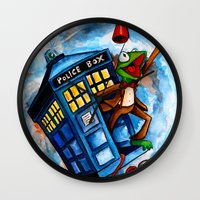 muppet Wall Clocks featuring Muppet Who - The eleventh doctor. by James Powell