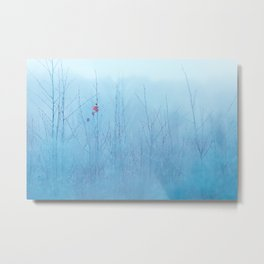 A Late Sign Of Autumn Metal Print