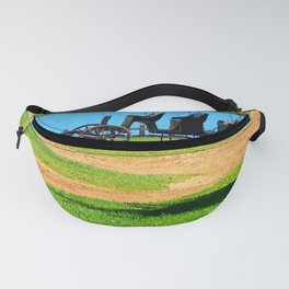 Antique 3 seat Carriage Fanny Pack