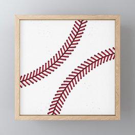 Fantasy Baseball Super Fan Home Run Framed Mini Art Print