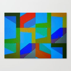 Colorful Truth. Sky Canvas Print