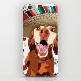 Cinco de Vizsla iPhone Skin