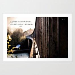 [r]omantico Art Print