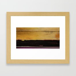 One Wrong Turn Framed Art Print