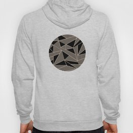 Geometric Abstract Origami Inspired Pattern Hoody