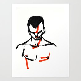 2000 - Boy (High Res) Art Print