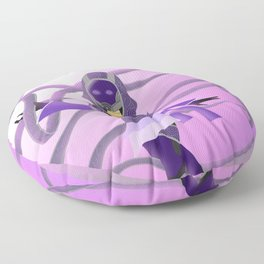 Patterned Ribbons Floor Pillow