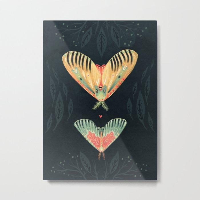 Moth Wings I Metal Print