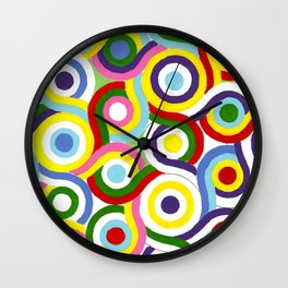 Seigaiha Series - Connection Wall Clock