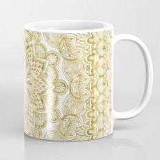 Orient Espresso Pattern Mandala Gold Mug