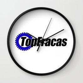Top Fracas  Wall Clock