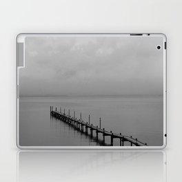 Misty Morning At The Lake Laptop & iPad Skin