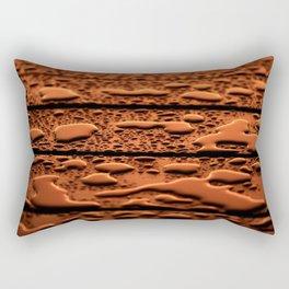 Sunset Raindrops Rectangular Pillow