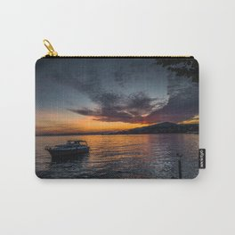 Montreux Lake Sunset Carry-All Pouch