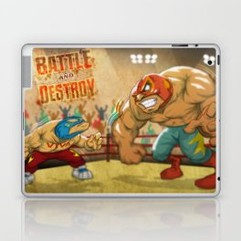 BATTLE AND DESTROY Laptop & iPad Skin