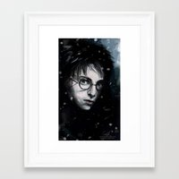 harry Framed Art Prints featuring Harry by LucioL
