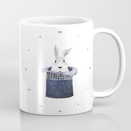 Mr. Rabbit and the Mad Hatter hat Coffee Mug
