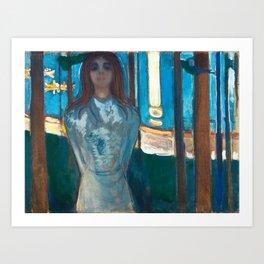 The Voice, Summer Night by Edvard Munch Art Print