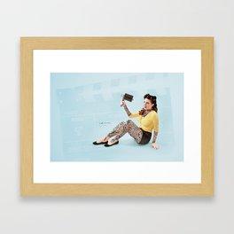 """The Auteur"" Framed Art Print"