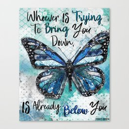 Whoever Is Trying Canvas Print