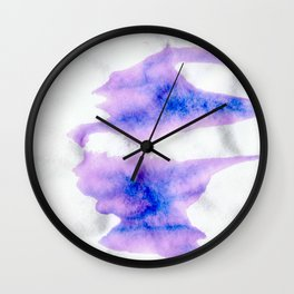 Brilliant Ink Wall Clock