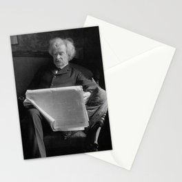 Mark Twain - American Author and Humorist Stationery Cards