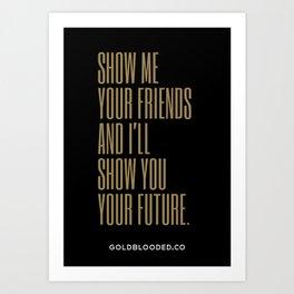 Friends Art Print