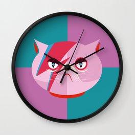 Glam cat Wall Clock