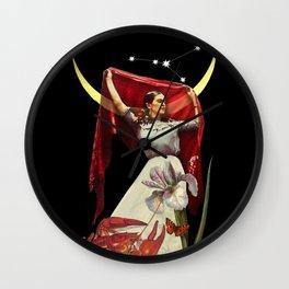 Fridas new moon Wall Clock