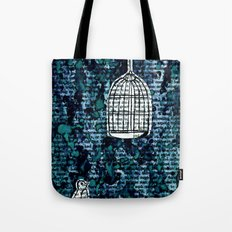 The Bird Cage Tote Bag