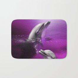 Delightful Dolphins Bath Mat