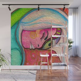 The Dreamer - Abstract Figurative Art Wall Mural