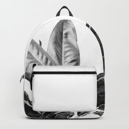 Grandiflora II - bw Backpack