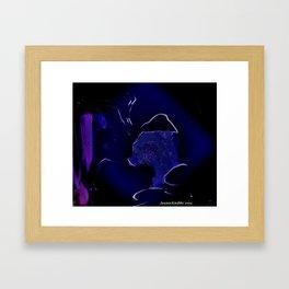 StolenKiss Framed Art Print