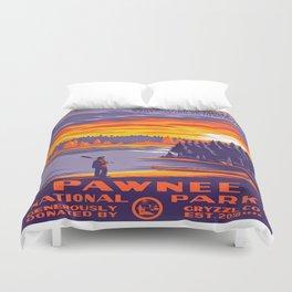 Pawnee National Park Duvet Cover