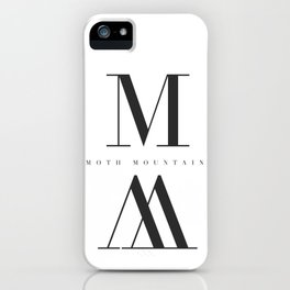 M // M iPhone Case