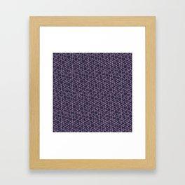 Jali Dark - Perfume Frosting Framed Art Print