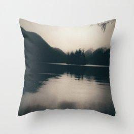 Island in a Lake Throw Pillow