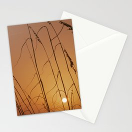 Florida Sunset over the Beach Stationery Cards