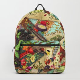 A Vintage Garden Backpack
