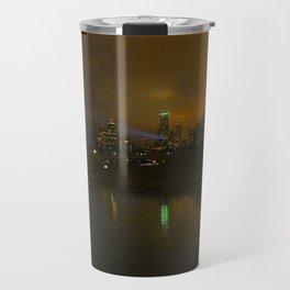 Christmas Lights, City Lights, Spot Lights: A Chicago Tableau (Chicago Christmas/Holiday Collection) Travel Mug