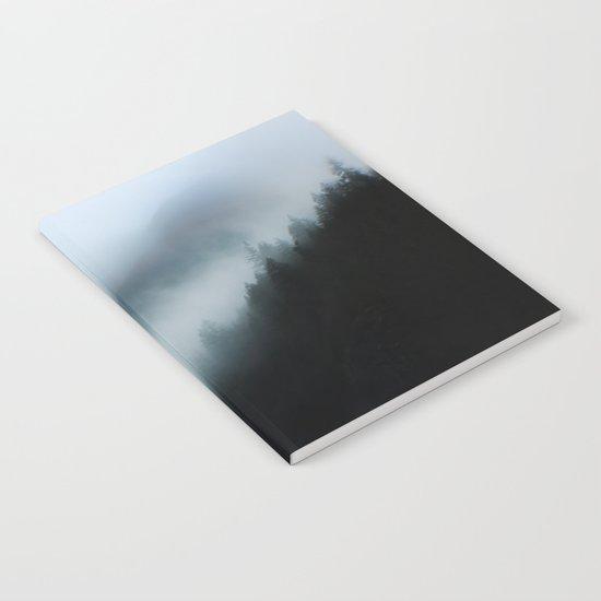 Foggy British Columbia Notebook
