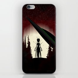 Aliens in the Forest iPhone Skin