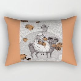 The Collectors Rectangular Pillow