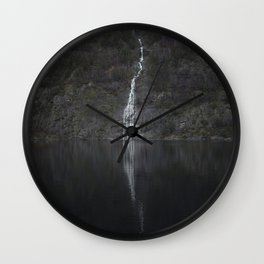 Waterfall (The Unknown) Wall Clock