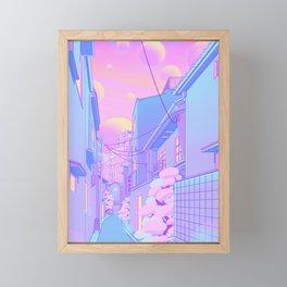 Osaka Morning Framed Mini Art Print