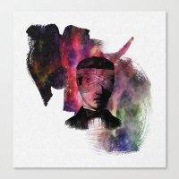 jon contino Canvas Prints featuring jon by El Felo