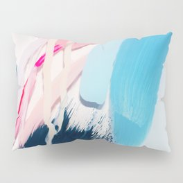 Even After All  #4 - Abstract on perspex by Jen Sievers Pillow Sham